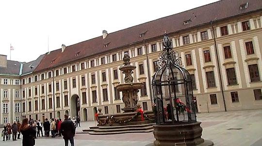 Второй двор Пражского Града