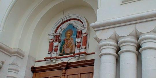 мужской монастырь в новом афоне