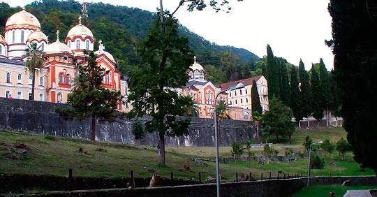 Новоафонский монастырь 15