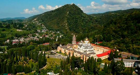 Новоафонский монастырь 1