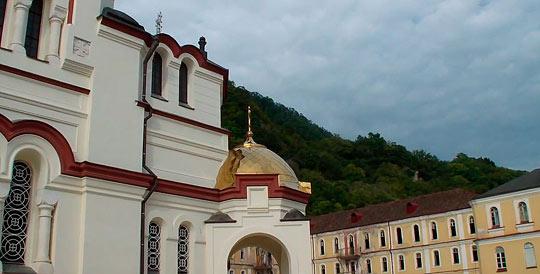 Новоафонский монастырь 3