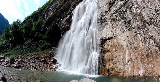 Гегский водопад 2