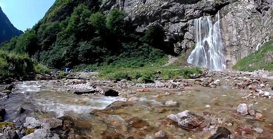 Гегский водопад 3