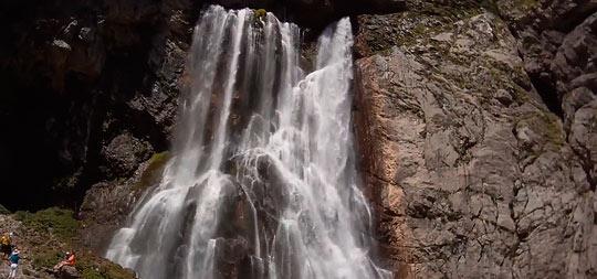 Гегский водопад 4