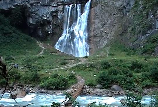 Гегский водопад 7