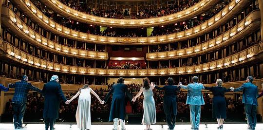 Выступление в Венской опере