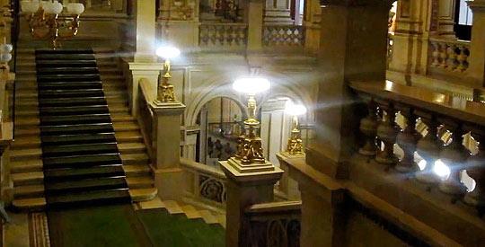 Интерьер Венской оперы