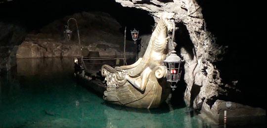 Подземное пещерное озеро Seegrotte