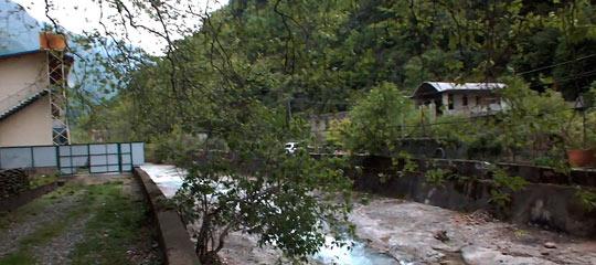 История Жоэкварского ущелья