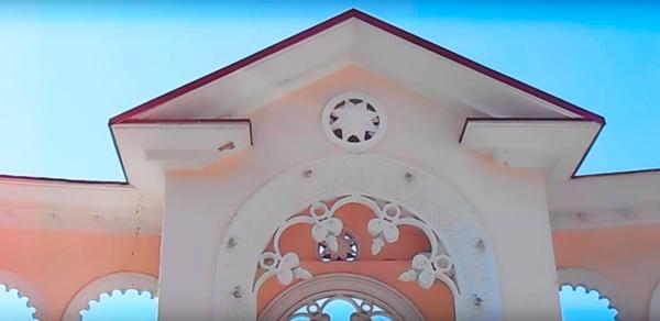 колоннада в гаграх