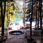 Дача Сталина на озере Рица