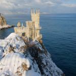 Крым в январе