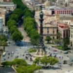 Бульвар Рамбла в Барселоне