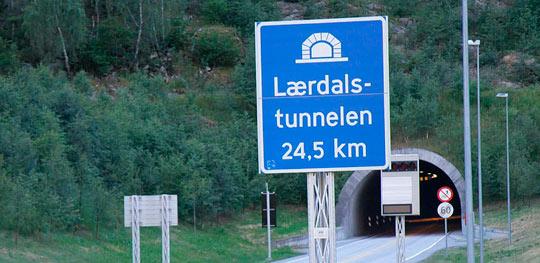 Туннель Лаэрдал