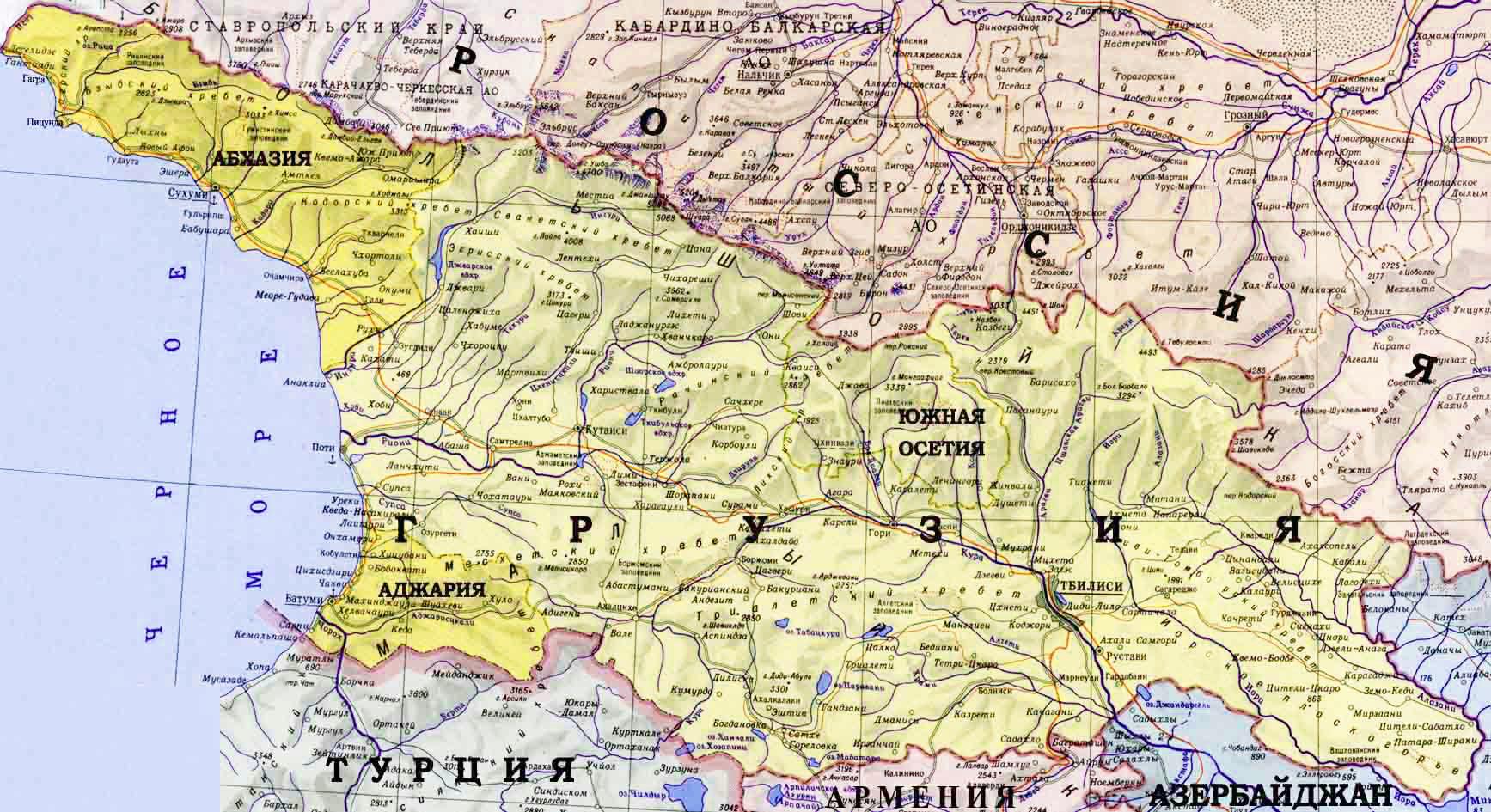 грузия на мировой карте фото солист рид