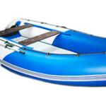 Надувная лодка — «клёвое» место посредине водоема